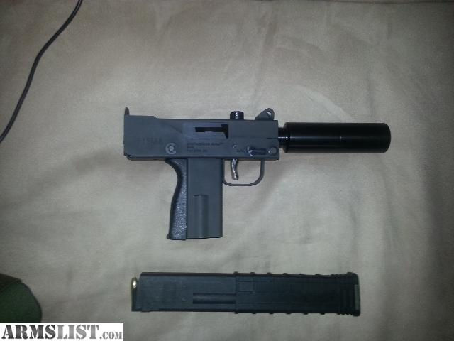 ARMSLIST - For Sale/Trade: Masterpiece arms MAC 10 9mm