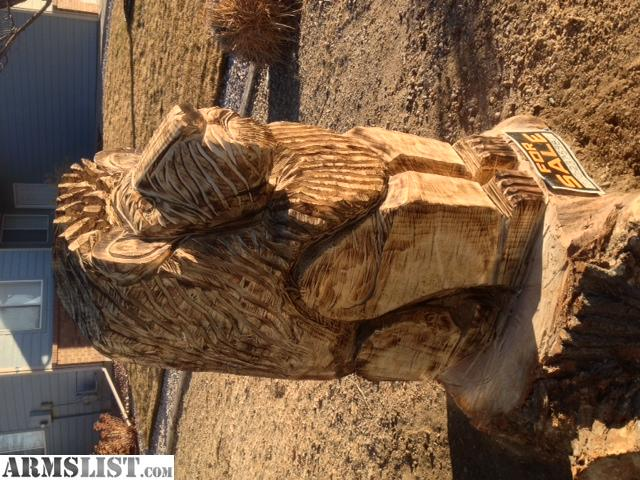 Armslist for sale chainsaw carvings trade firearms