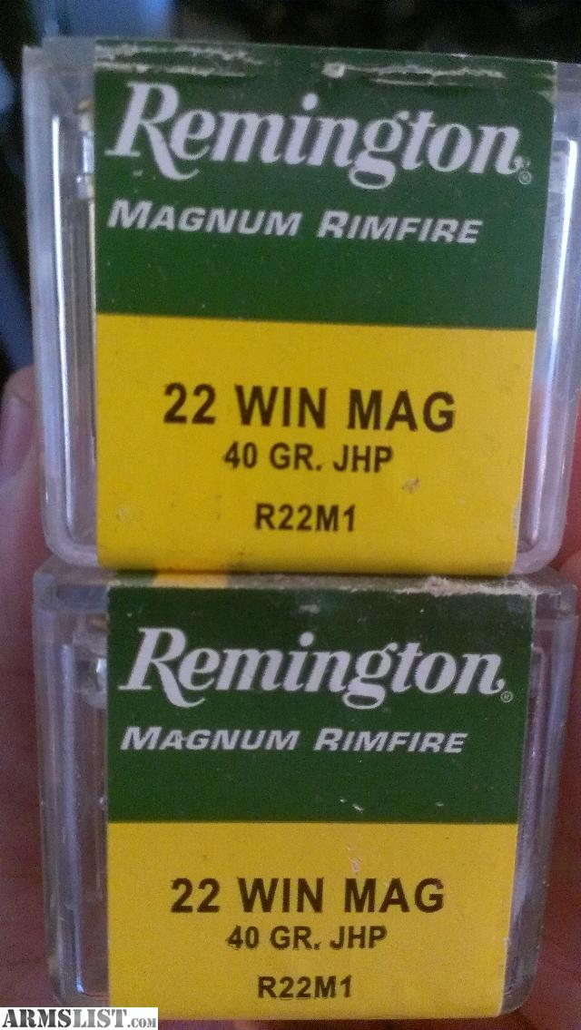 Armslist for sale remington 22 mag ammo 17 boxes 850 rounds