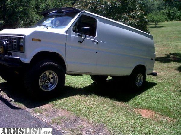 ARMSLIST For Sale Ford E250 4x4 cargo van 351w