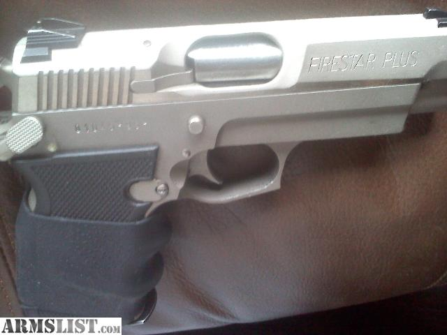 Firestar Plus 9Mm Review http://www.armslist.com/posts/1402497/ohio-handguns-for-sale--firestar-plus-9mm-stainless-with-3-high-cap-magazines
