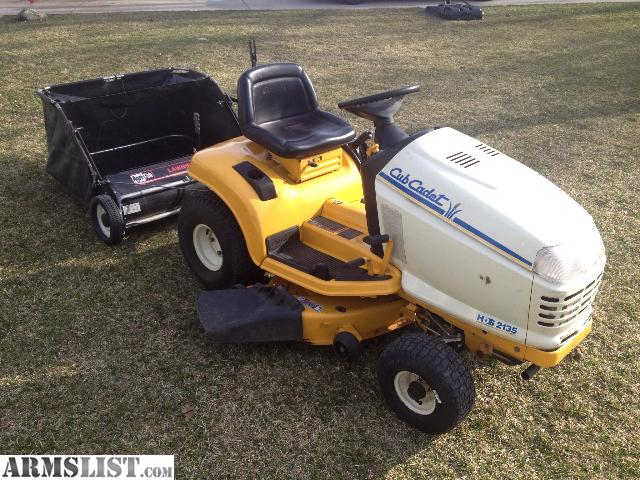 Armslist For Sale Trade Cub Cadet Hds2135 Lawn Tractor Attachments