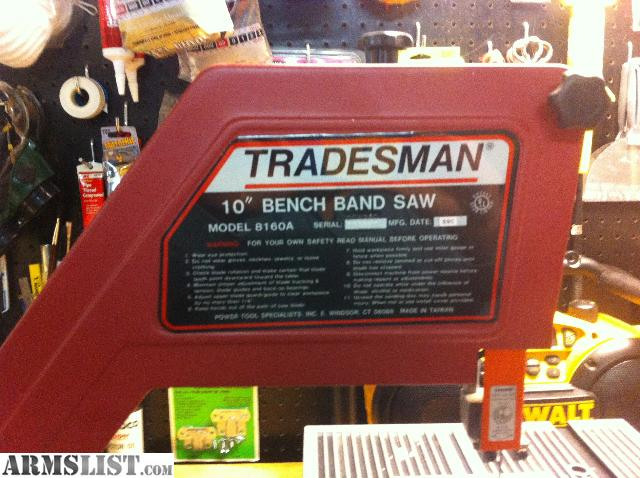 Armslist for sale trade 10 bench bandsaw for 10 tradesman table saw