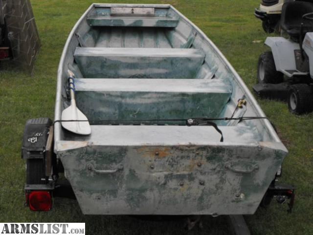 Interesting Flat bottom aluminum fishing boats