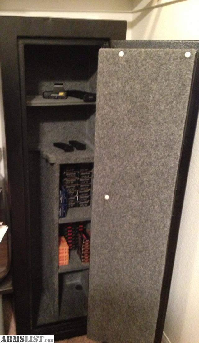 Black Gun Safe In Living Room Decor: For Sale: Centurion 12 Gun Safe