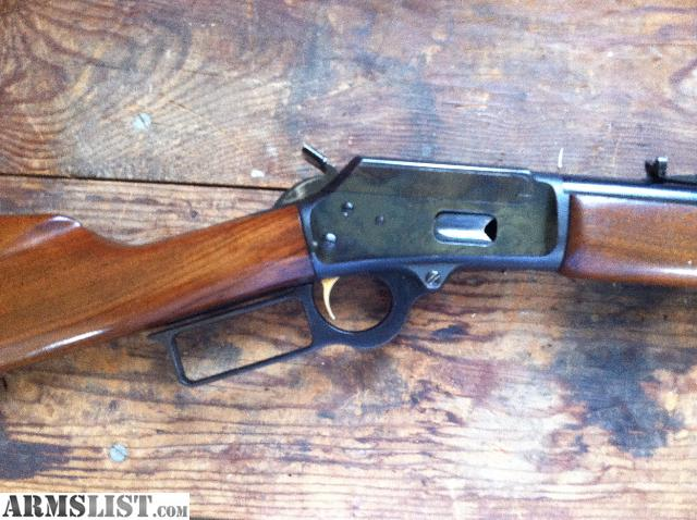 Older marlin 1894 44 magnum rifle in good condition for its age will