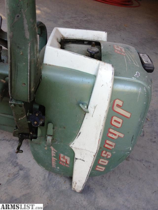 Armslist for sale vintage johnson 5 1 2 hp tiller for Boat motors for sale mn