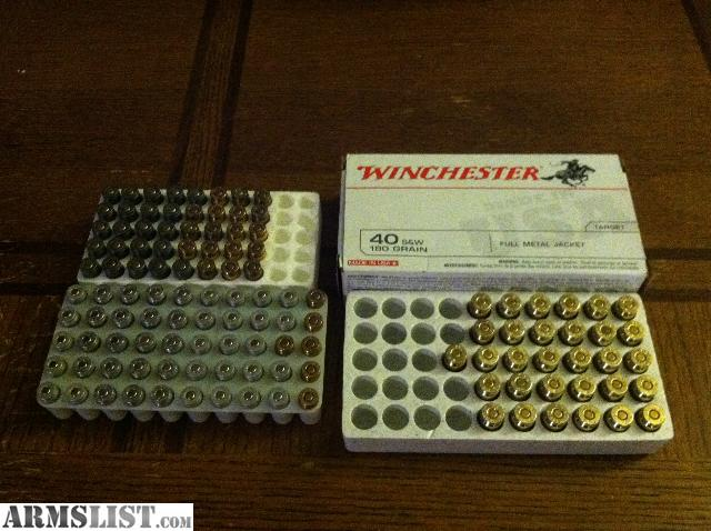 For Sale: .380 Ammo - AND - 40 cal Ammo