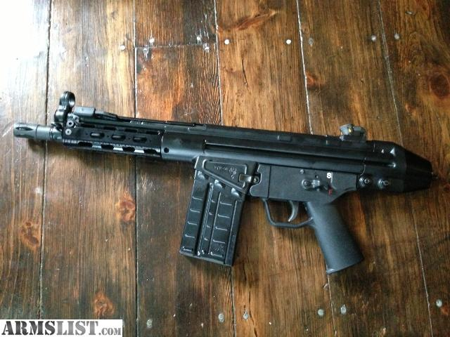For sale ptr 91 pistol like hk or vector or hk 51 new with mags and