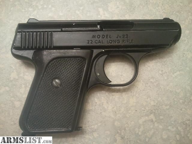 Jennings J 22 Pistol http://www.armslist.com/posts/1500178/bend-oregon-handguns-for-sale--jennings-j-22--22-cal-pistol---ammo---holster