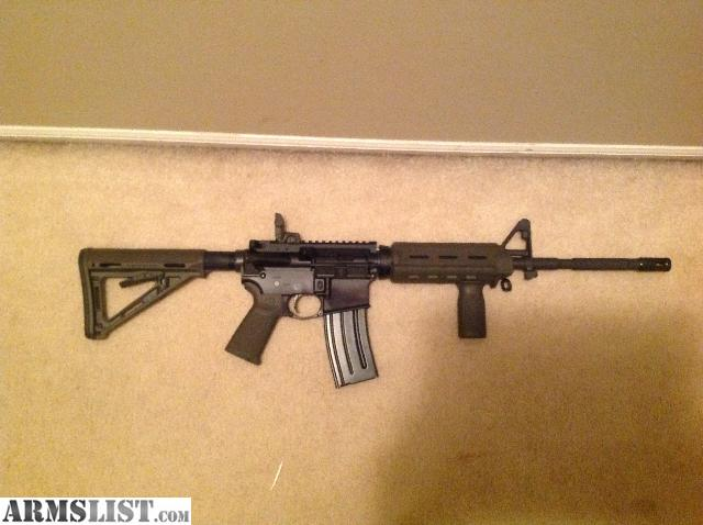Never been fired colt ar 15 rifle comes with 2 thirty round magazines