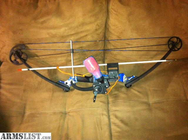 Armslist for sale ams bowfishing fish hawk bow kit for Fishing bow kit