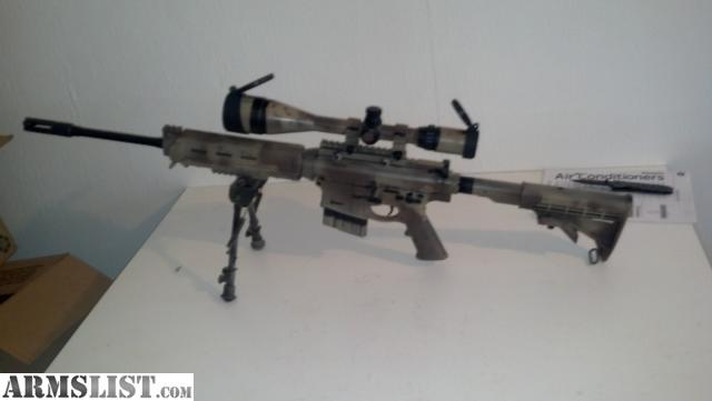 Ar-10 Sniper Rifles submited images. M110 Sniper Rifle Suppressed