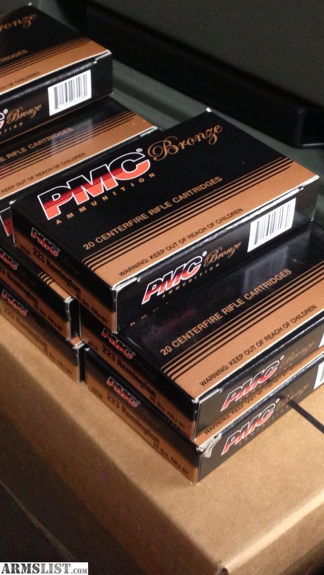 jpeg, 1000 Rounds PMC 223 Ammo several boxes. 1000 Rounds PMC 223 Ammo