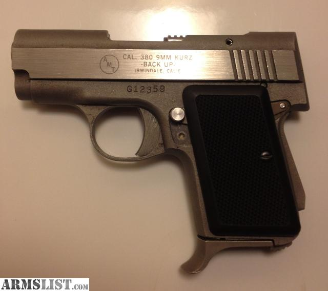 AMT _380 9Mm Kurz Manual http://www.armslist.com/posts/1532864/manchester-new-hampshire-handguns-for-sale-trade--amt-backup--380-9mm-kurz-
