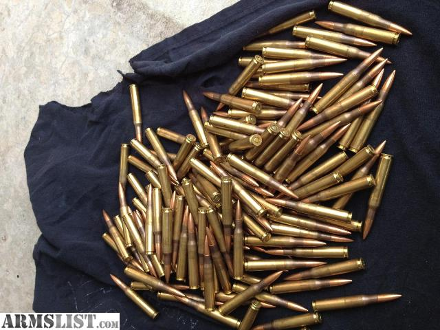 ARMSLIST - For Sale: 150 Rounds of HXP M2 ball FMJ
