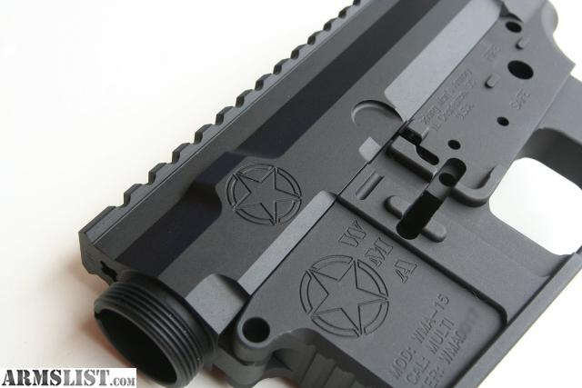Billet Lower Receiver With Forged Upper Upper Receiver Forged or