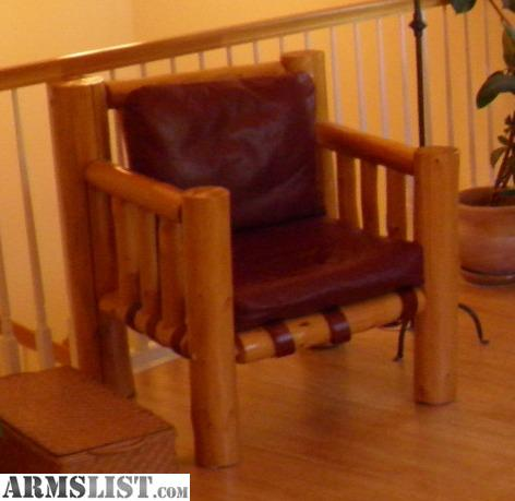 Armslist For Sale Log Furniture Dining Room Table Chairs Side Table Arm Chair