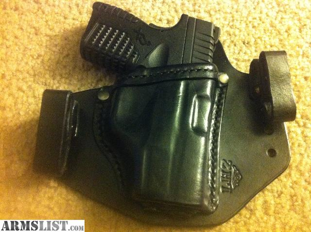 ARMSLIST - For Sale: XDs IWB leather holster