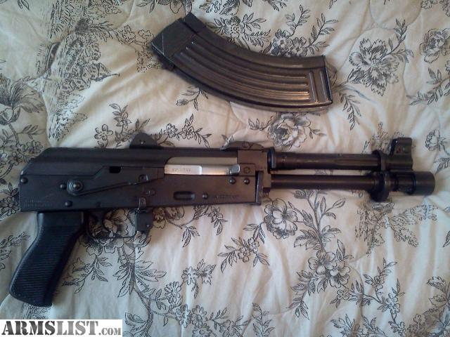 Zastava M92 pistol 7.62x39 comes with one full magazine of ammo. THERE