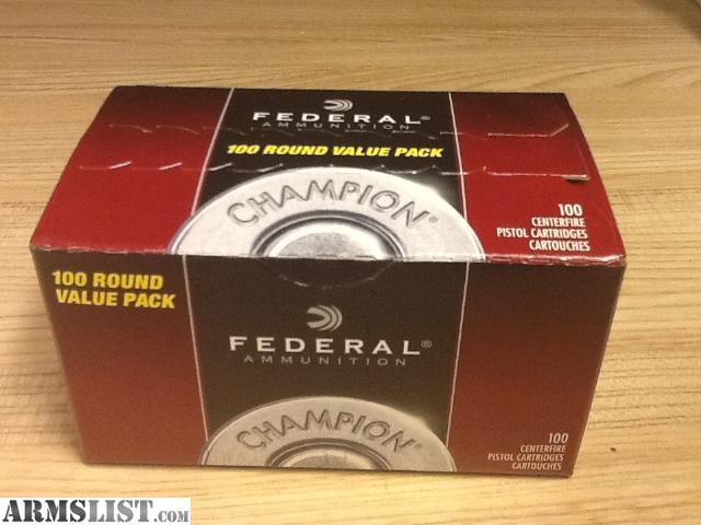 9mm Round 100 Rounds of 9mm For $50 Ftf