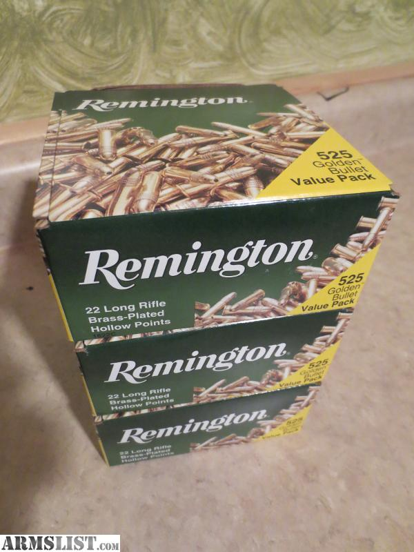 For Sale: .22lr ammo 1,575 rounds 22 long rifle