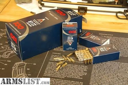 For Sale: 5000 rounds of 40gr CCI .22lr ammo