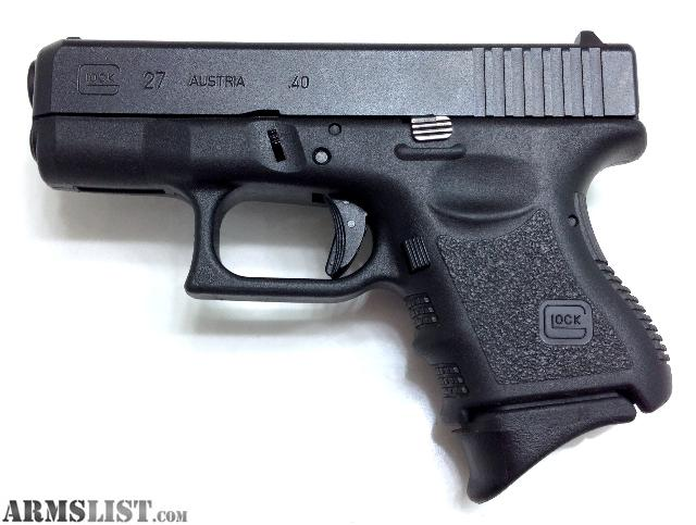 Glock 27 Gen 3 You must be 21 or older