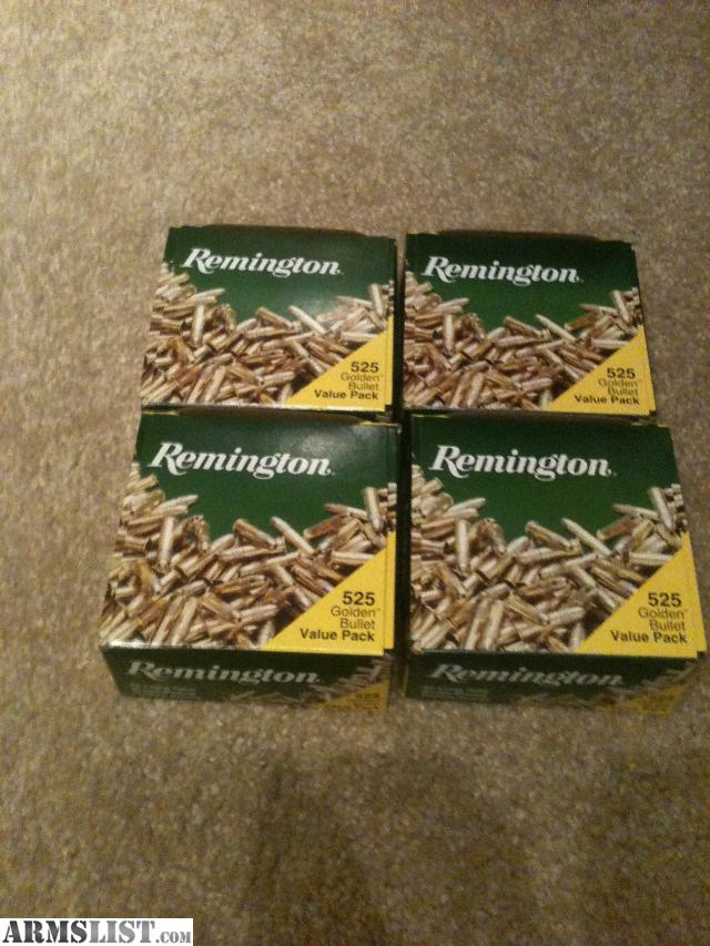 These are Remington 22lr High Velocity 22lr ammunition with a 36 grain