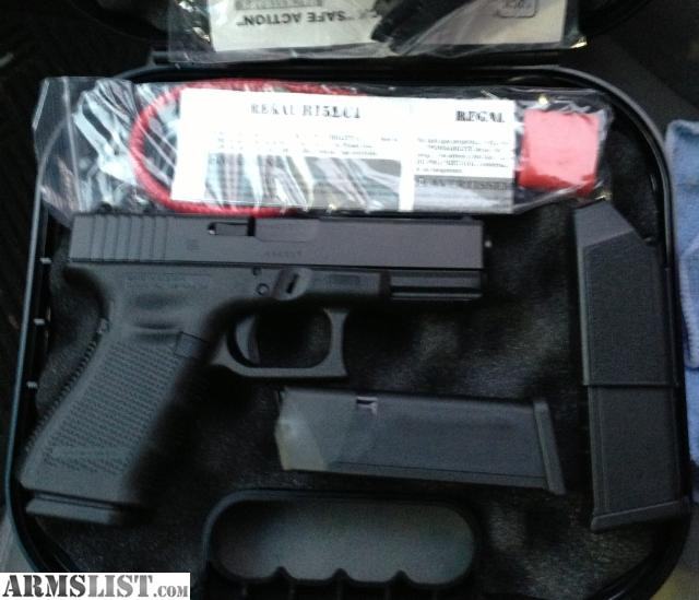 armslist for sale glock 19 gen 4 with beavertail straps