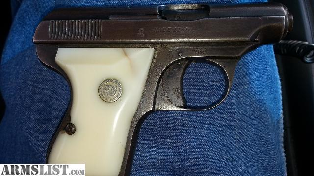Italian 25 Caliber Pistols http://www.armslist.com/posts/1605480/knoxville-tennessee-handguns-for-sale--1956-italian-made--25-pistol