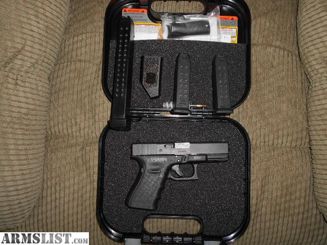 armslist for sale glock 19 gen 4 and 3 holster