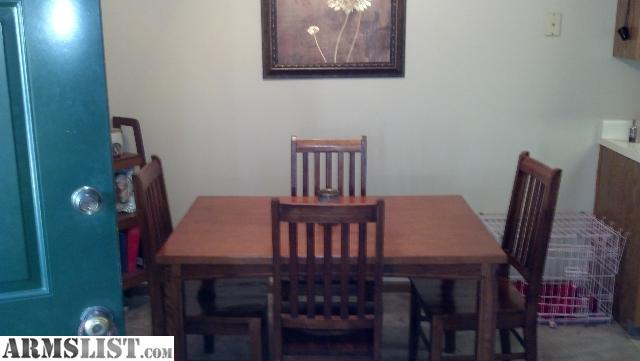 Dining Table: Sale Dining Table Oak-cdn2.armslist.com
