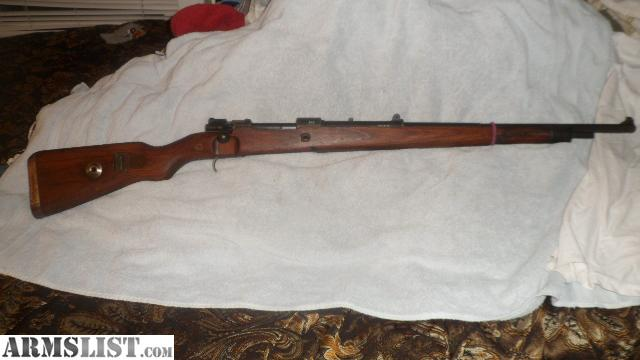 Gew 98 for Sale http://www.armslist.com/posts/1618971/tulsa-oklahoma-rifles-for-sale--german-gew-98-mauser