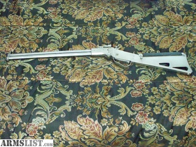 For Sale: SPRINGFIELD ARMORY M6 SCOUT STAINLESS .22HORNET/.410 GAUGE