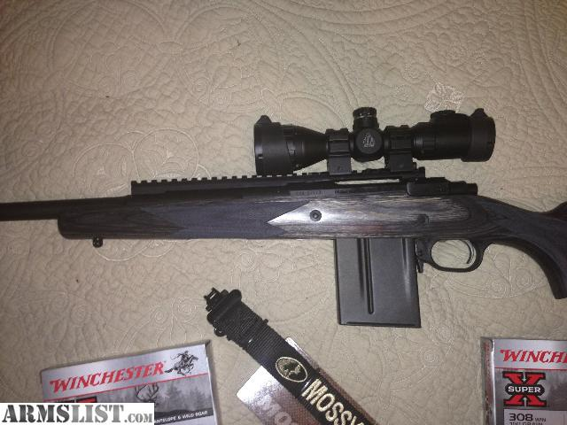 Fotos xs scope rail for ruger gunsite scout rifle