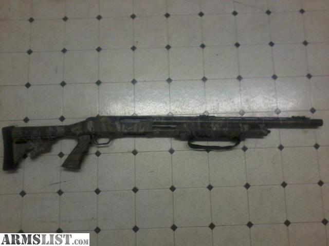 ARMSLIST - For Sale: Mossberg Camo Tactical Shotgun