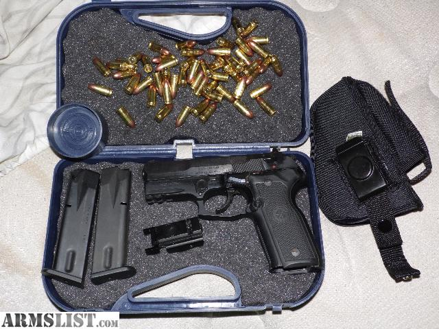 For sale trade stoeger cougar 8000 9mm ammo and accessories