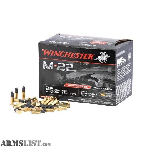ARMSLIST - For Sale: 22 lr ammo - 29.9KB