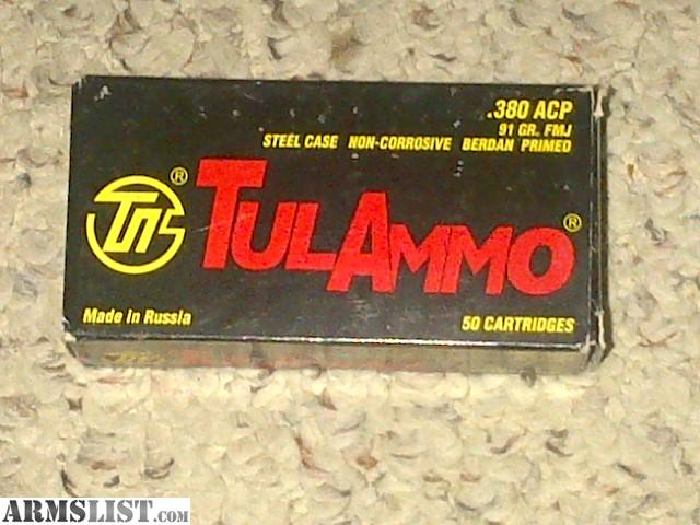 For Sale/Trade: .380 AMMO - 106 rounds