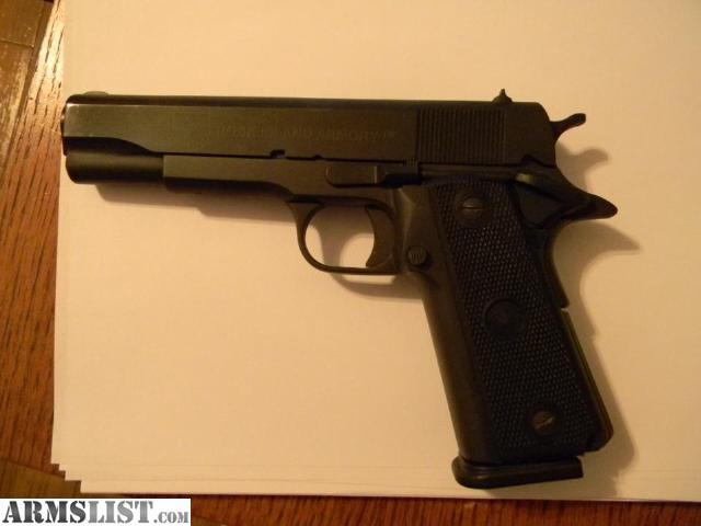 Armslist for trade double stack 1911 ria 45acp