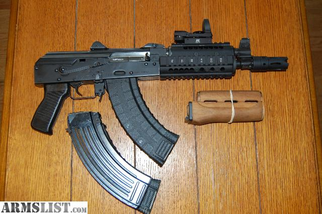 For Sale: Zastava Pap M92 w/Quadrail, 3in1 Muzzle Brake, and Reflex