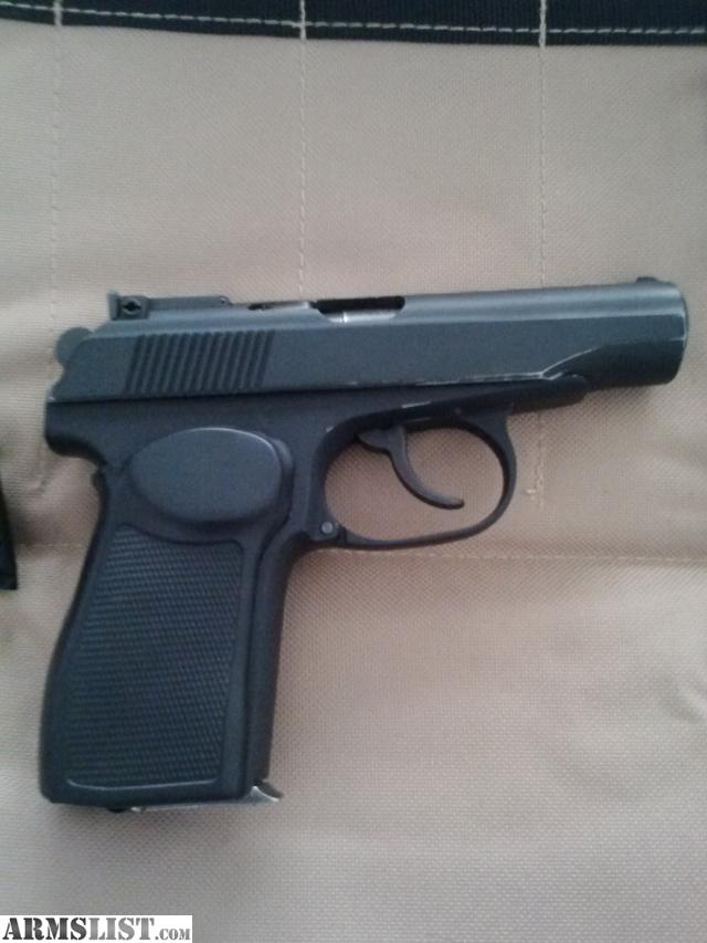 For sale russian makarov 9x18 9mm