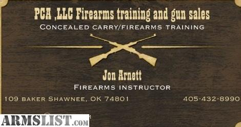 Oklahoma Concealed Carry Class http://www.armslist.com/posts/1696618/oklahoma-city-oklahoma-handguns-for-sale--open-concealed-carry-firearms-class