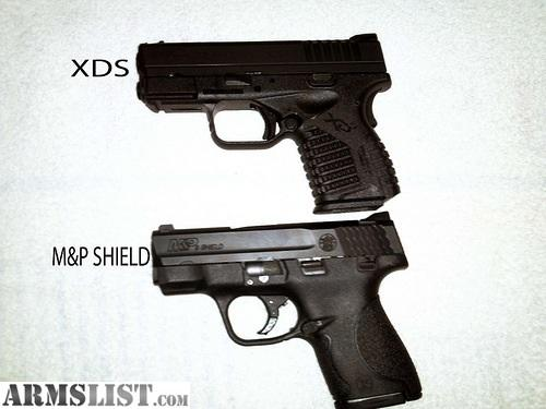 ARMSLIST - For S...M And P Shield Vs Xds