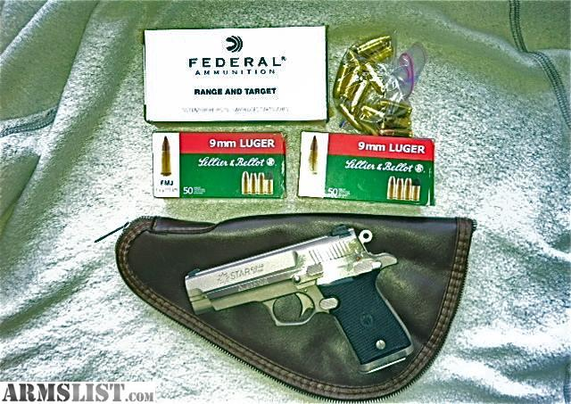 Firestar Plus 9Mm Review http://www.armslist.com/posts/1712445/chicago-illinois-handguns-for-sale--star-firestar-9mm-mint-condition-plus-extras-