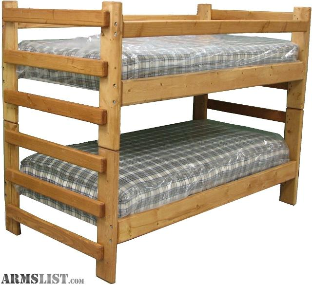 ARMSLIST - For Sale/Trade: Custom Bunk Beds and twin beds
