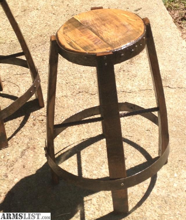 Local Furniture For Sale: For Sale: Whiskey Barrel Furniture