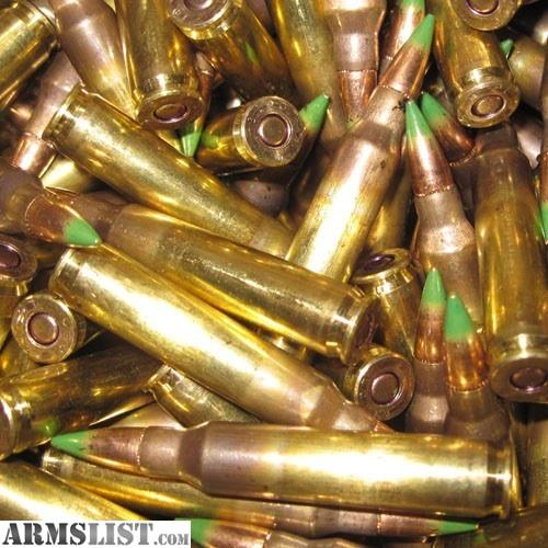 armslist for sale trade lcaap lake city xm855 green tip armor piercing s109. Black Bedroom Furniture Sets. Home Design Ideas