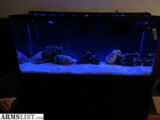75 gallon saltwater aquarium kit armslist for sale trade for Saltwater fish tank kit
